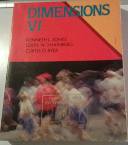 9780060434571: Dimensions: A changing concept of health