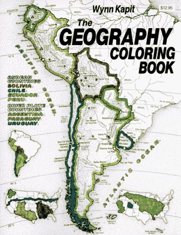 9780060434823: The Geography Colouring Book