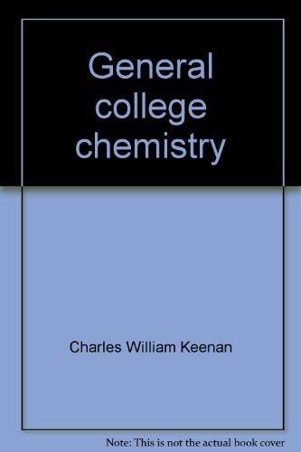 9780060436162: General college chemistry