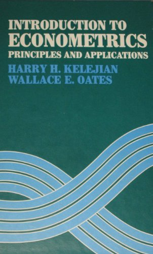 9780060436179: Introduction to Econometrics: Principles and Applications