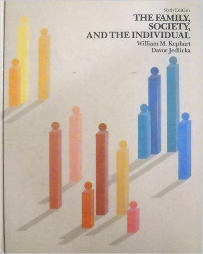 9780060436377: Family, Society and the Individual