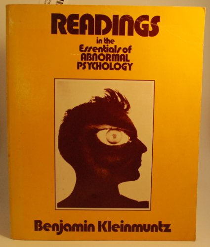 9780060437091: Readings in the Essentials of Abnormal Psychology