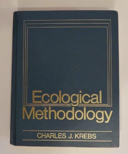 9780060437848: Ecological Methodology