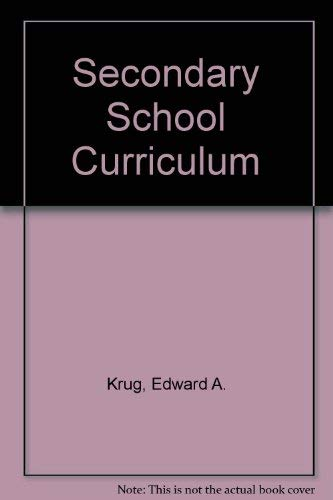 9780060437909: Secondary School Curriculum