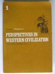 9780060438418: Perspectives in Western Civilization: Essays from Horizon