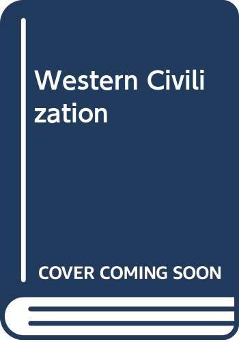 9780060438449: Western Civilization