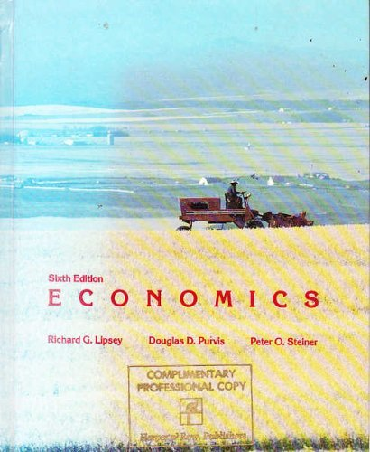 Economics : Canadian Editions: Peter O. Steiner;