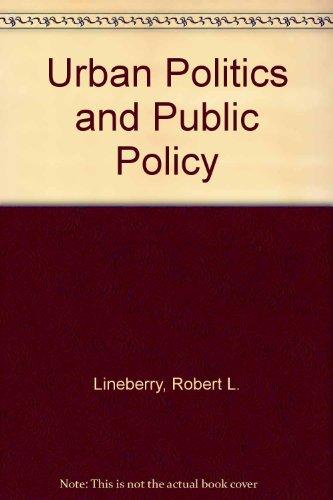 9780060439866: Urban Politics and Public Policy