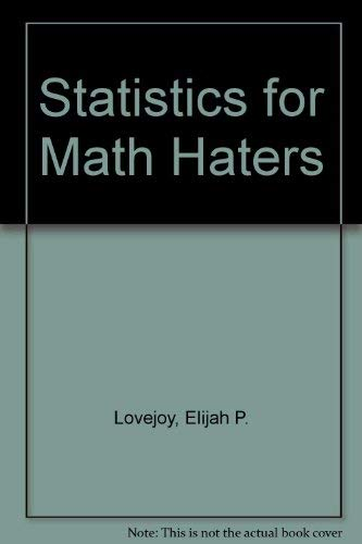 9780060440695: Statistics for Math Haters