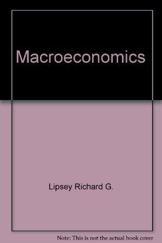 Macroeconomics : Canadian: Douglas D. Purvis;