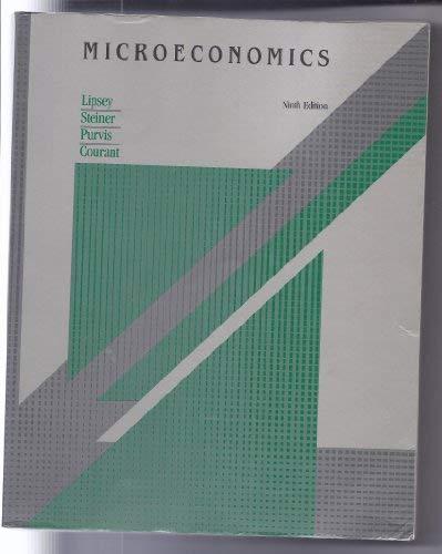 9780060441135: Microeconomics