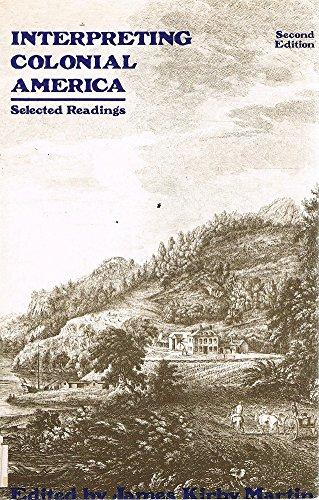 9780060442095: Interpreting Colonial America: Selected Readings
