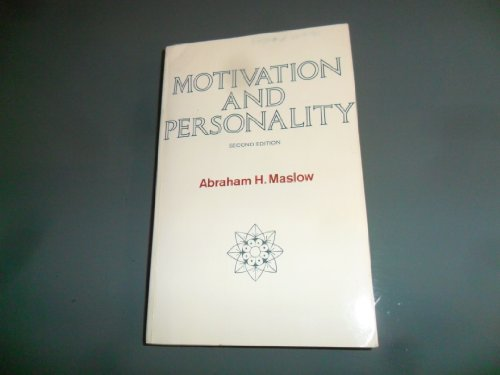 9780060442415: Motivation and Personality