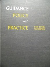 9780060443009: Guidance Policy and Practice