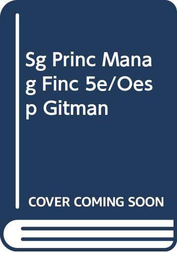 Study Guide to Accompany Gitman Principles of: Mazer