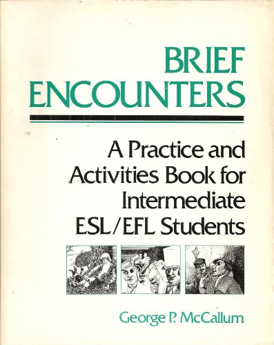 9780060443191: Brief Encounters: A Practice and Activity Book for Intermediate English as a Second Language/English as a Foreign Language Students