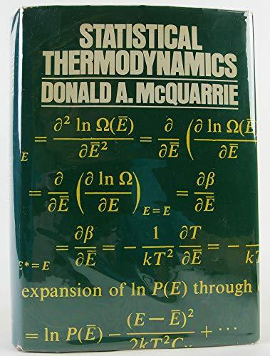 9780060443658: Statistical Thermodynamics (Harper's chemistry series)