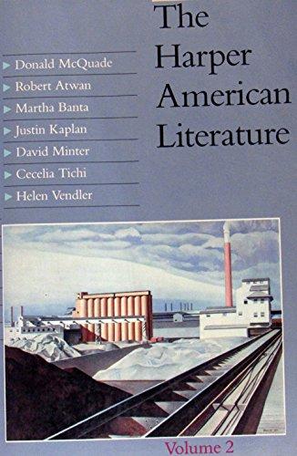 9780060443689: Harper American Lit Vol 2 Pb