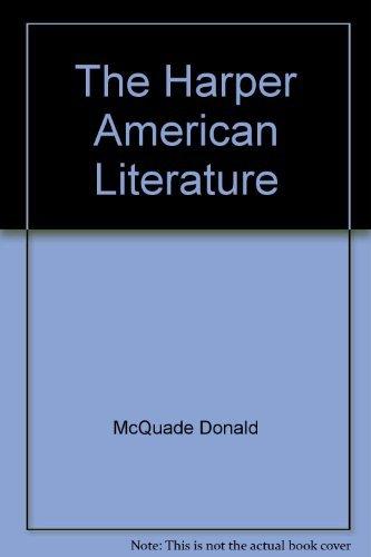 9780060443719: The Harper American Literature