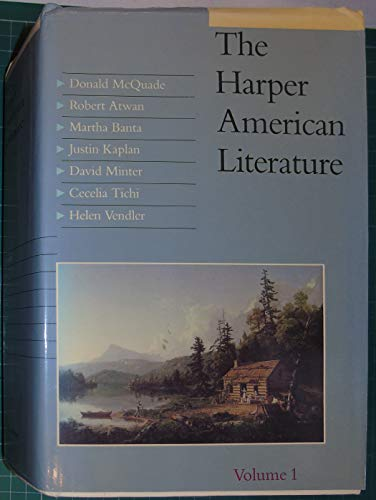 9780060443726: The Harper American Literature