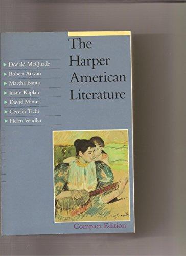 9780060443733: The Harper American Literature