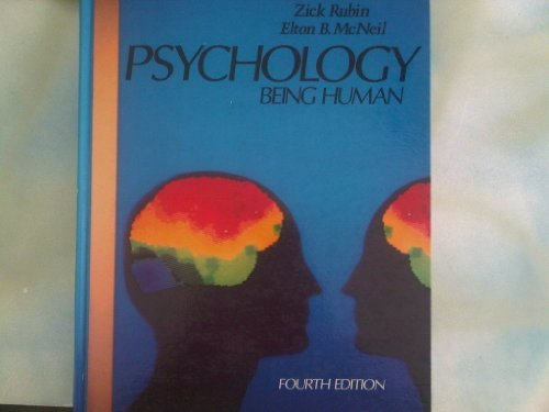 9780060443788: Psychology of Being Human