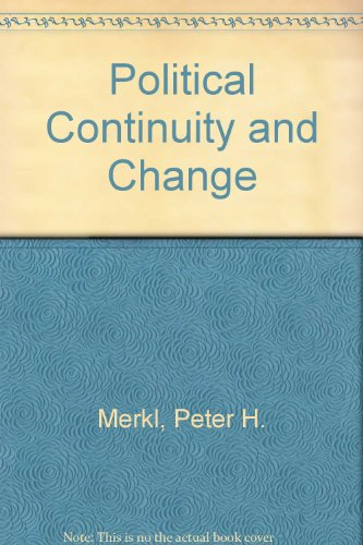 Political Continuity and Change: Merkl, Peter H.
