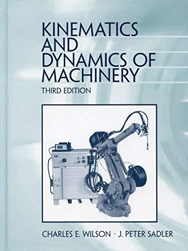 9780060444372: Kinematics and dynamics of machinery