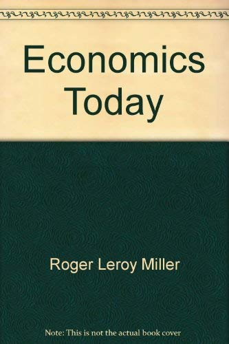 9780060444617: Economics today