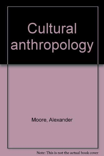 9780060445751: Cultural anthropology