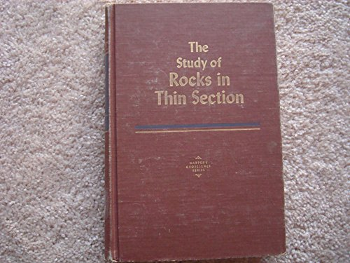 9780060446109: Study of Rocks in Thin Section