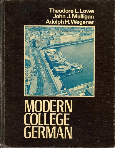 9780060446475: Modern college German