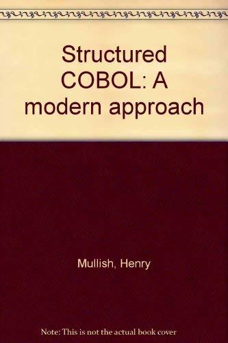 9780060446529: Structured COBOL: A modern approach