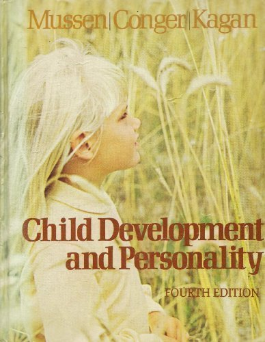 9780060446918: CHILD DEVELOPMENT AND PERSONALITY