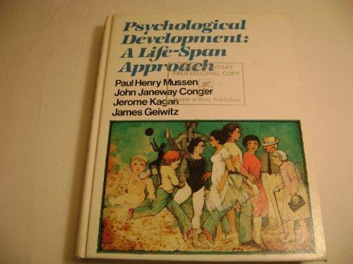 9780060446925: Psychological Development: A Life-Span Approach