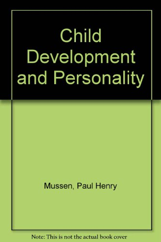 9780060446932: Child Development and Personality