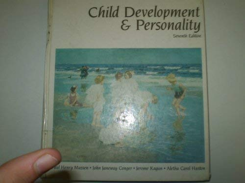 9780060446956: Child Development and Personality