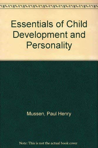 9780060447045: Essentials of child development and personality