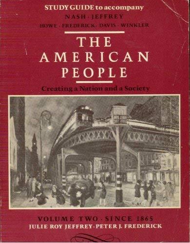 9780060447328: Sg American People Vol II PB