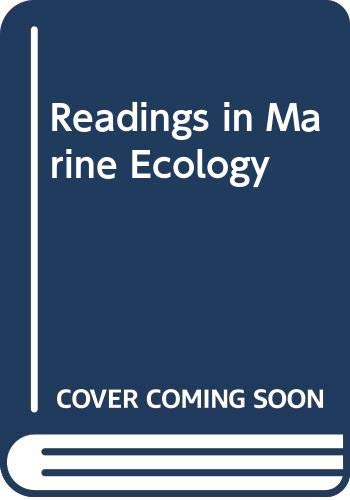 9780060448370: Readings in Marine Ecology
