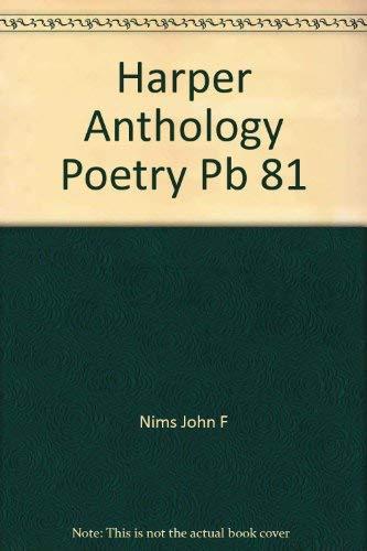 9780060448462: Harper Anthology Poetry Pb 81