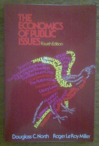 9780060448516: The economics of public issues