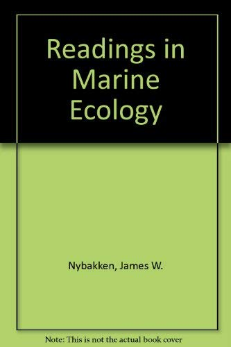 9780060448684: Readings in Marine Ecology