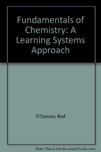9780060448691: Fundamentals of chemistry: A learning systems approach