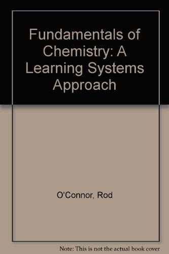 9780060448745: Fundamentals of Chemistry: A Learning Systems Approach