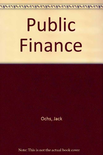 9780060448851: Public Finance