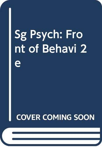 9780060448868: Sg Psych: Front of Behavi 2e