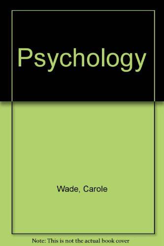 9780060449247: Psychology