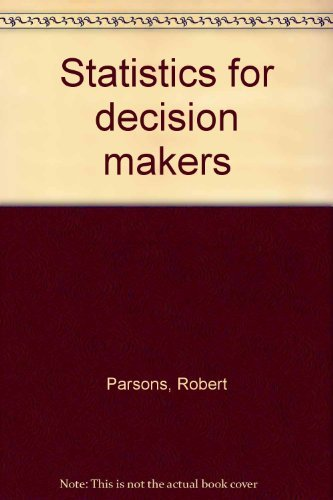 9780060450199: Statistics for decision makers