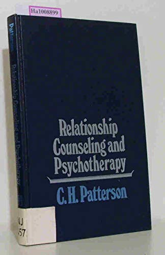 9780060450458: Relationship Counseling and Psychotherapy